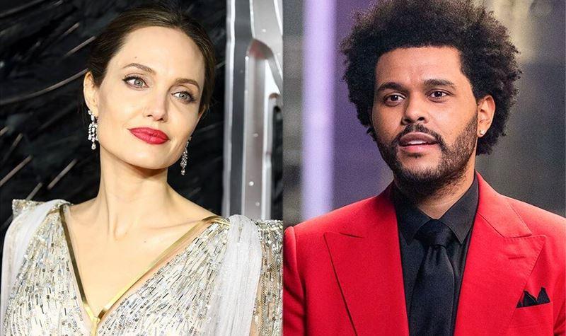 Angelina Jolie e The Weeknd apanhados a jantar juntos