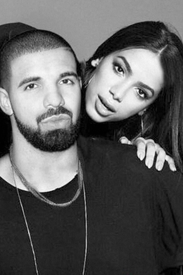 Anitta e Drake: tão amigos que eles eram...