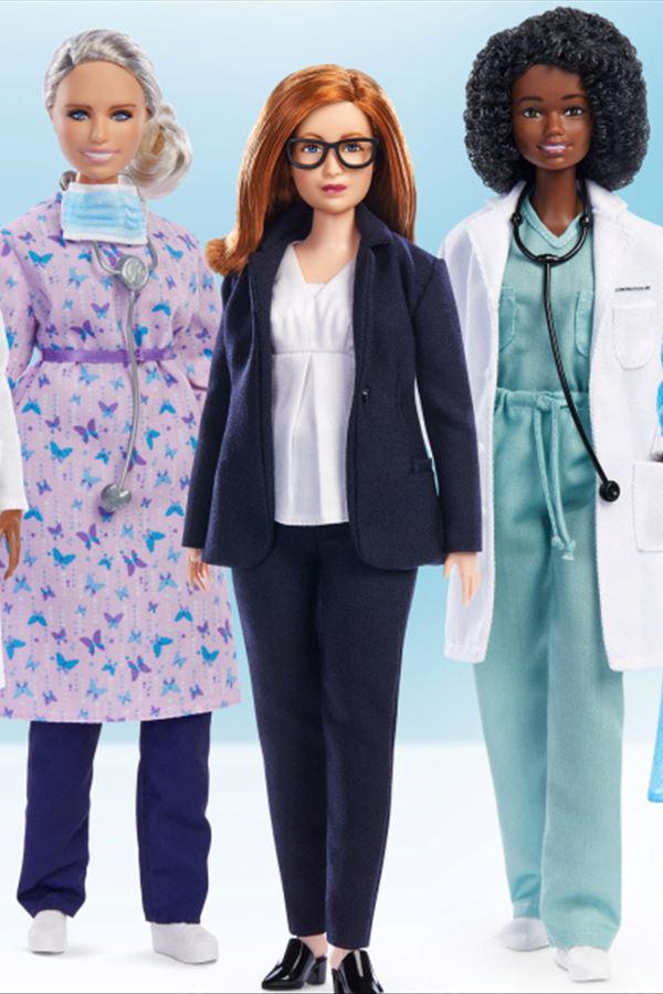 Covid-19: Barbie homenageia mulheres na linha da frente
