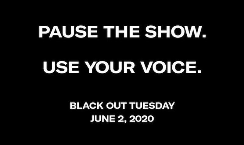 """""""Black Out Tuesday"""": o dia em que a música parou"""