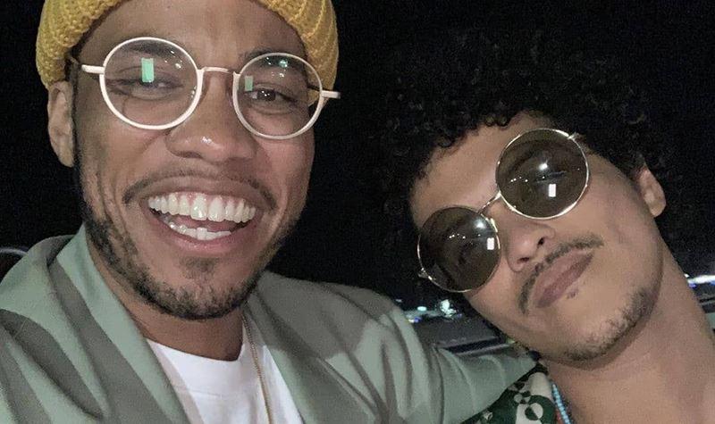 """Bruno Mars e Anderson Paak: """"formámos uma banda!"""""""