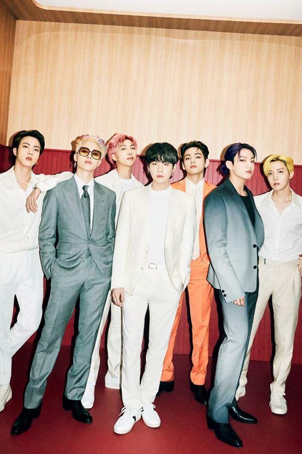 BTS juntam-se à Louis Vuitton