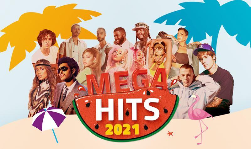 MEGA HITS 2021 já é #1 no Top de compilações!
