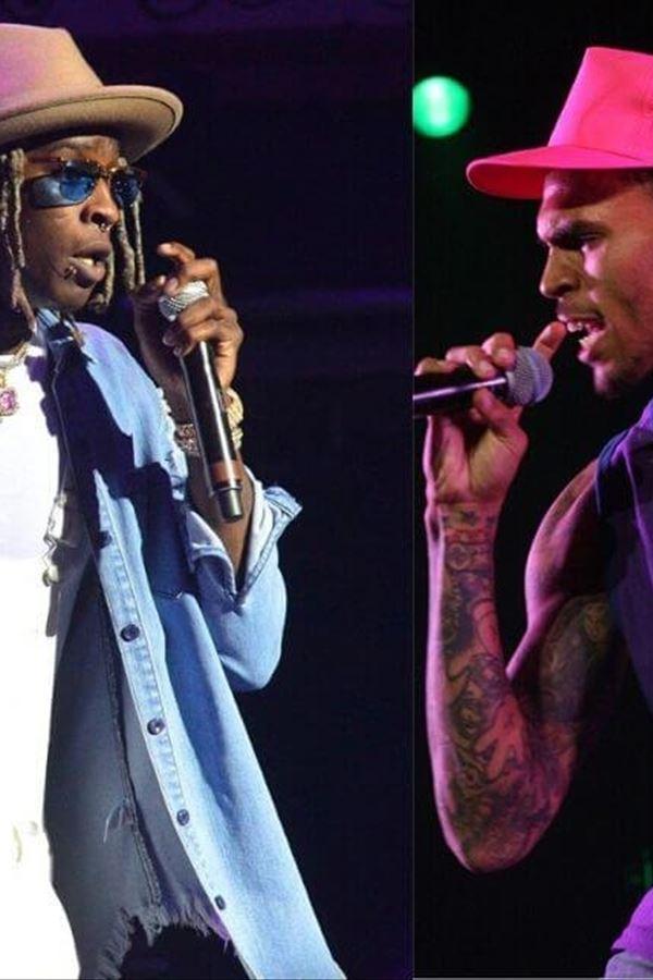 """""""Slime & B"""" junta Chris Brown e Young Thug"""