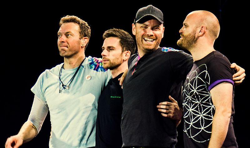 Coldplay voltam ao top...