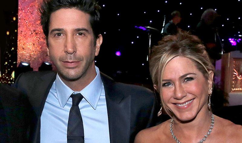 Jennifer Aniston e David Schwimmer: mais do que... friends?