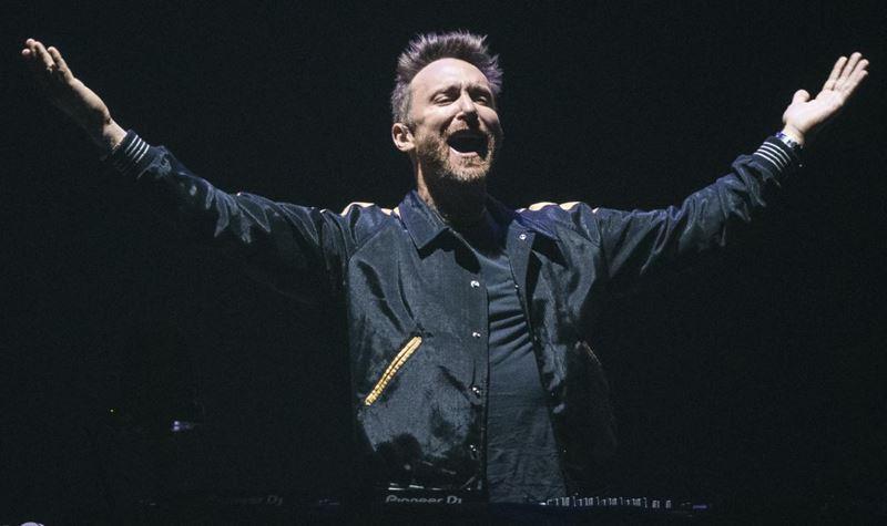 David Guetta dá concerto único