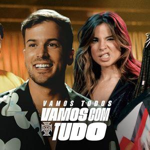 David Carreira x Seleção - Vamos com Tudo (ft. Ludmilla, Giulia Be & Preto Show)