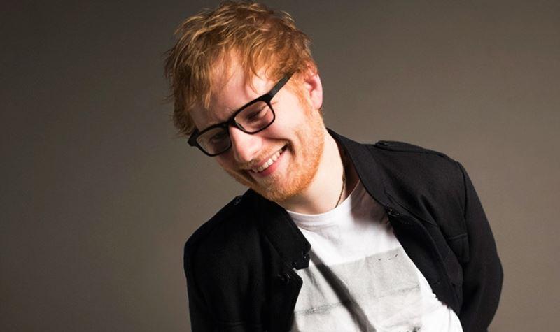 Ed Sheeran, o benfeitor!