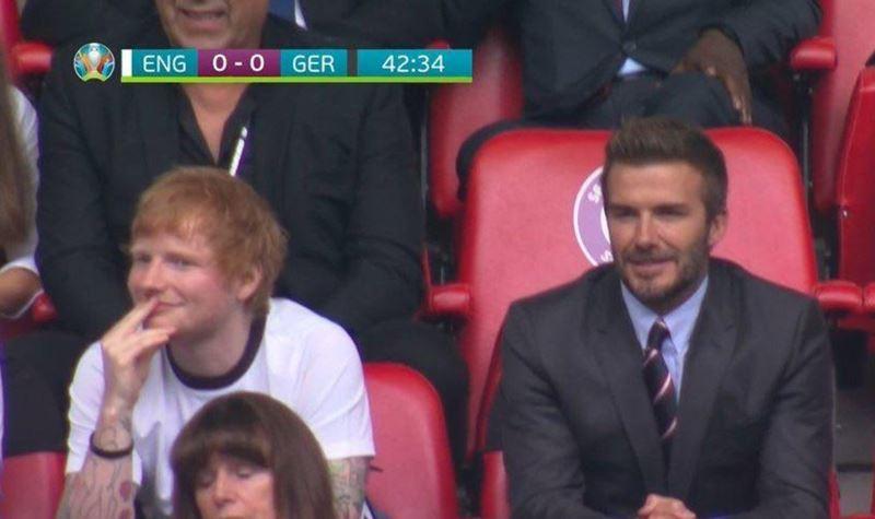 Ed Sheeran confundido com Jason Mraz em direto