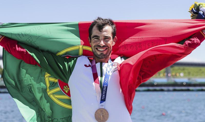 Terceira medalha para Portugal: Fernando Pimenta conquistou o bronze!