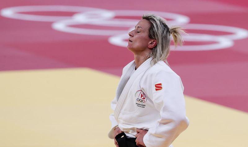 Telma Monteiro eliminada dos Jogos Olímpicos