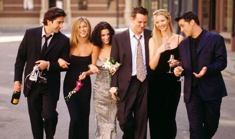 """""""Friends"""" reunidos... soon!"""