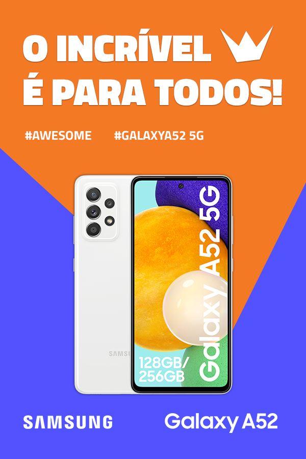 Queres um Samsung Galaxy A52 5G?!