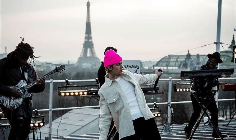 "Justin Bieber ""Live From Paris"""