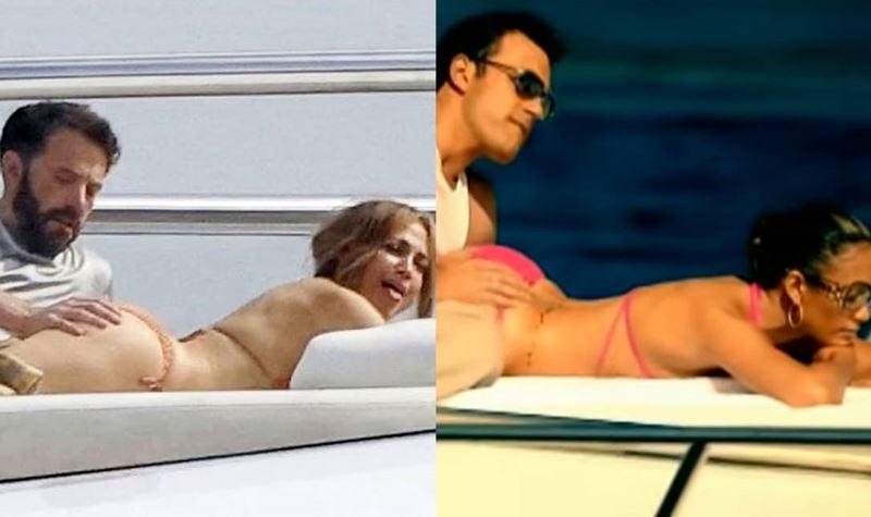 Jennifer Lopez e Ben Affleck repetem fotografia com 19 anos!