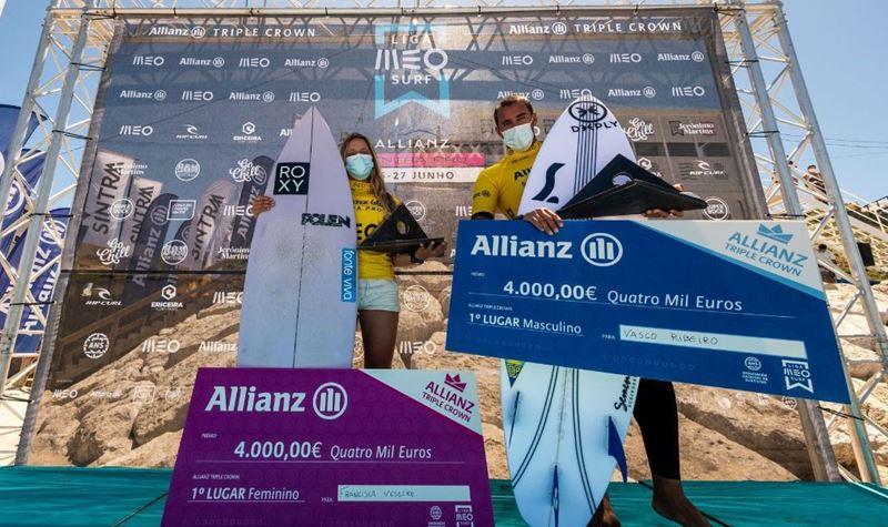 Liga MEO Surf: Vasco Ribeiro é campeão nacional