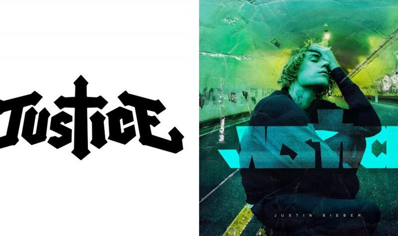 Logo Justice vs Justin Bieber