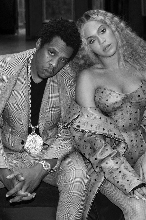Só mesmo Beyoncé e Jay-Z...
