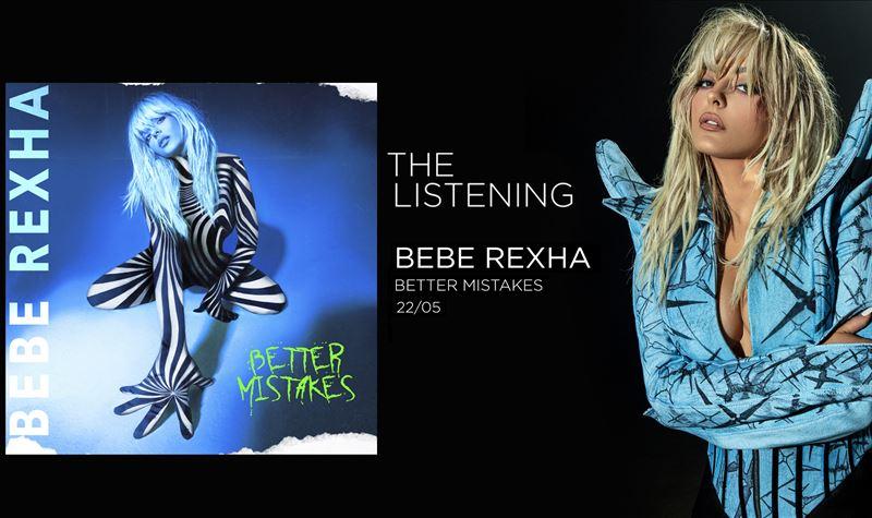 BEBE REXHA | BETTER MISTAKES