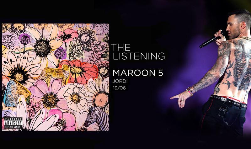 MAROON 5 | JORDI