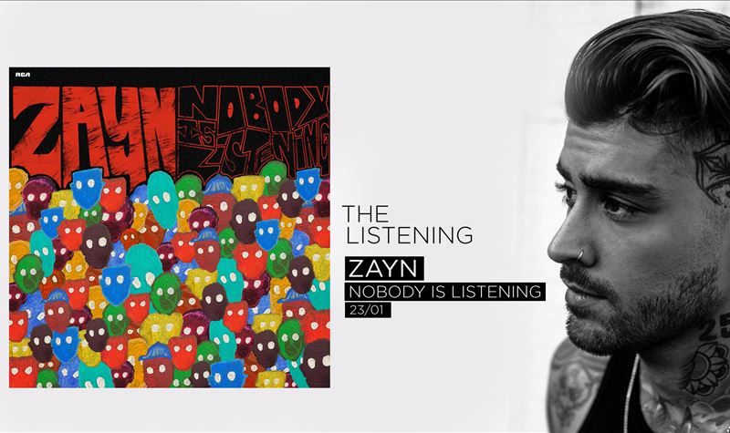 ZAYN | NOBODY IS LISTENING