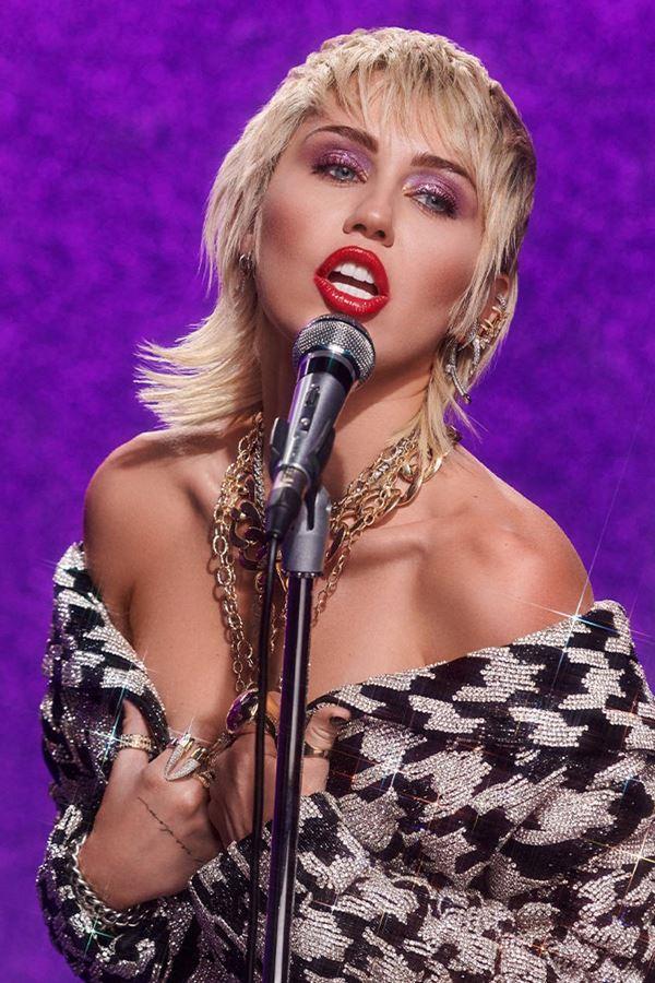 Miley Cyrus cantou uma música que ninguém conhecia