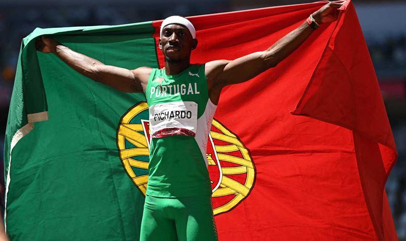 Sai ouro para Portugal! Obrigado, Pedro Pichardo!