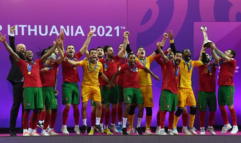 Portugal campeão do mundo de futsal!