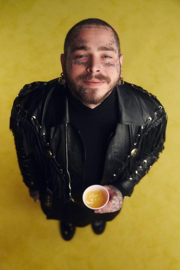 Post Malone tem novo negócio! É vegan e saudável.