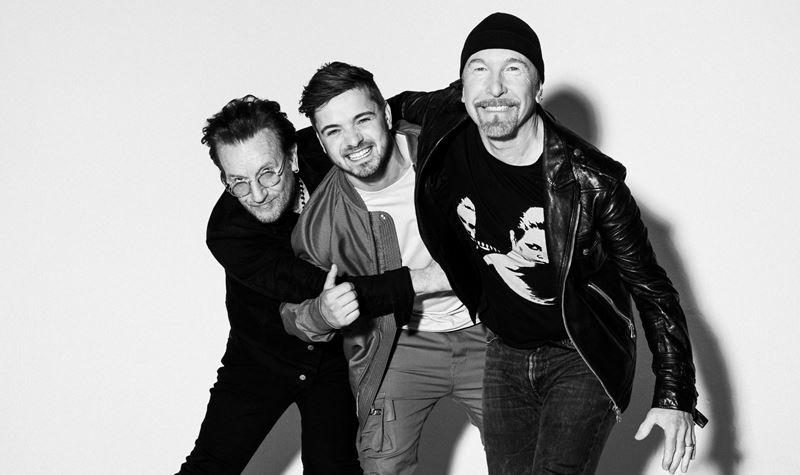 O que junta Martin Garrix e os U2?