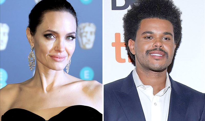 O que há, afinal, entre The Weeknd e Angelina Jolie?